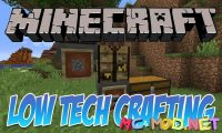 Low Tech Crafting mod for Minecraft logo_compressed