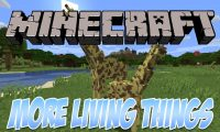More Living Things mod for Minecraft logo