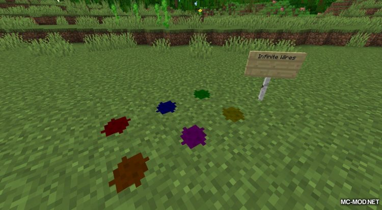 More Wires mod for Minecraft (10)