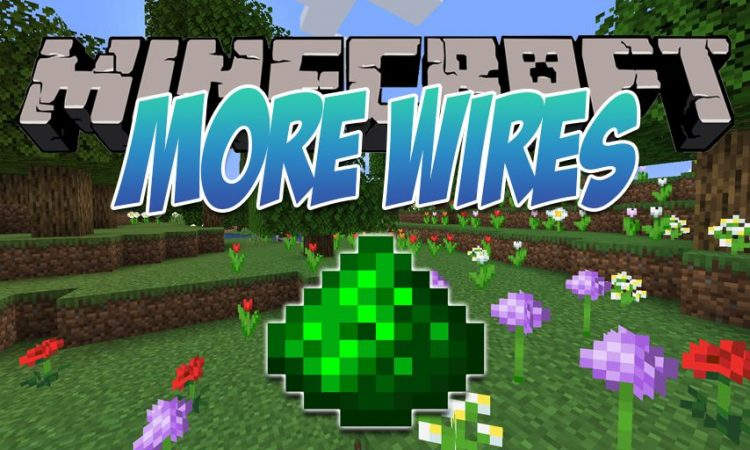 More Wires mod for Minecraft logo