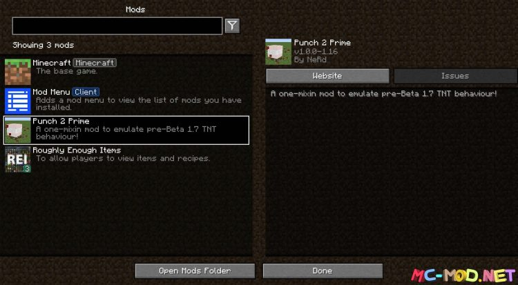 Punch 2 Prime mod for Minecraft (1)NEW