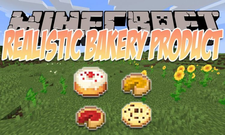 Realistic Bakery Product mod for Minecraft logo