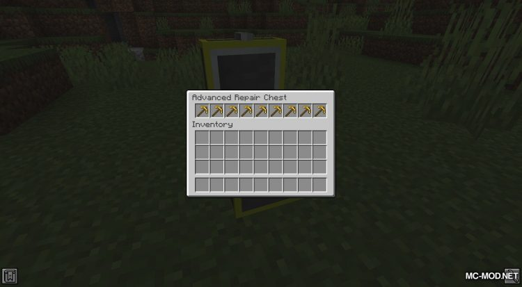 Repair Chests mod for Minecraft (11)