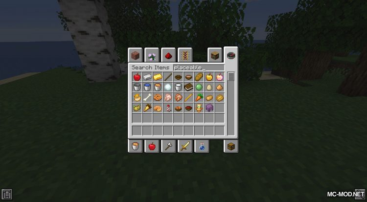 Rosy_s Placeable Items Mod mod for Minecraft (3)