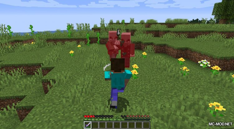 Simple Sweep mod for Minecraft (9)
