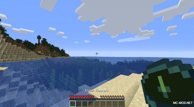 Stronghold Compass mod for Minecraft (10)