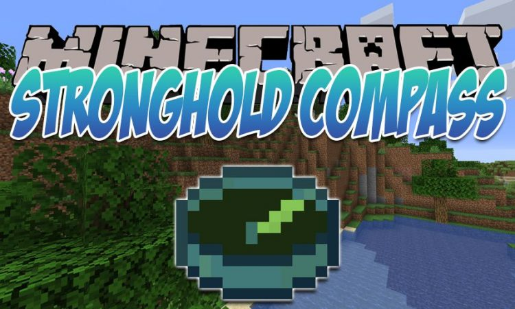 Stronghold Compass mod for Minecraft logo