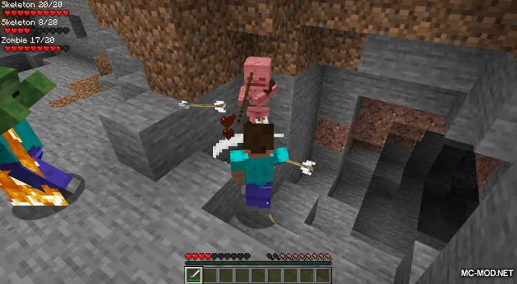 Surrounding Indicators mod for Minecraft (10)
