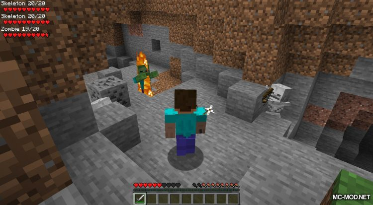 Surrounding Indicators mod for Minecraft (9)