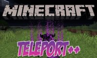 Teleport++ mod for Minecraft logo
