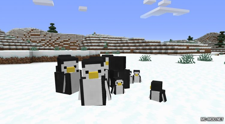 Tux mod for Minecraft (10)