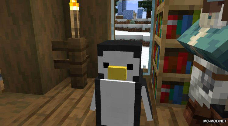 Tux mod for Minecraft (4)
