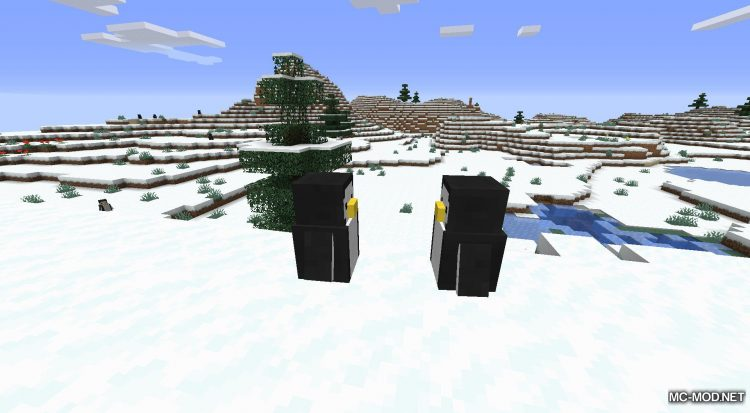 Tux mod for Minecraft (7)