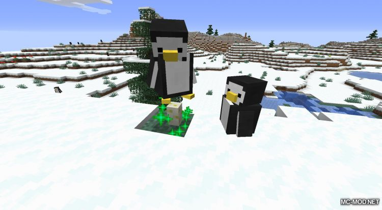 Tux mod for Minecraft (8)