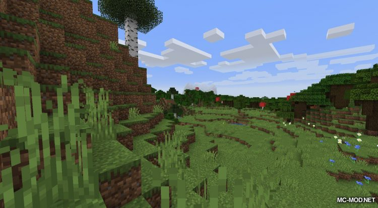 Unearthed mod for Minecraft (2)