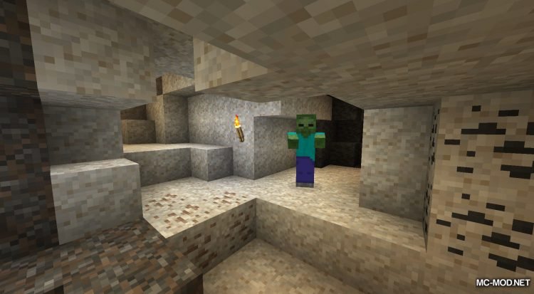 Unearthed mod for Minecraft (4)