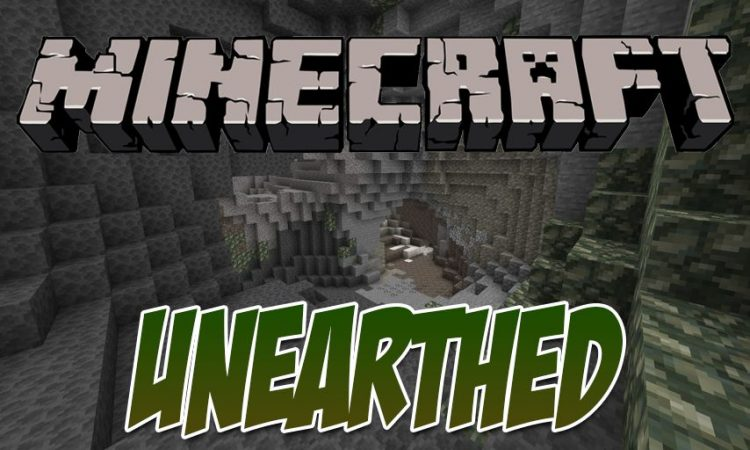 Unearthed mod for Minecraft logo