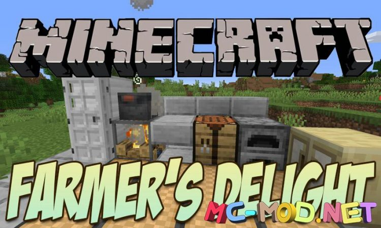 Farmer_s Delight mod for Minecraft logo_compressed