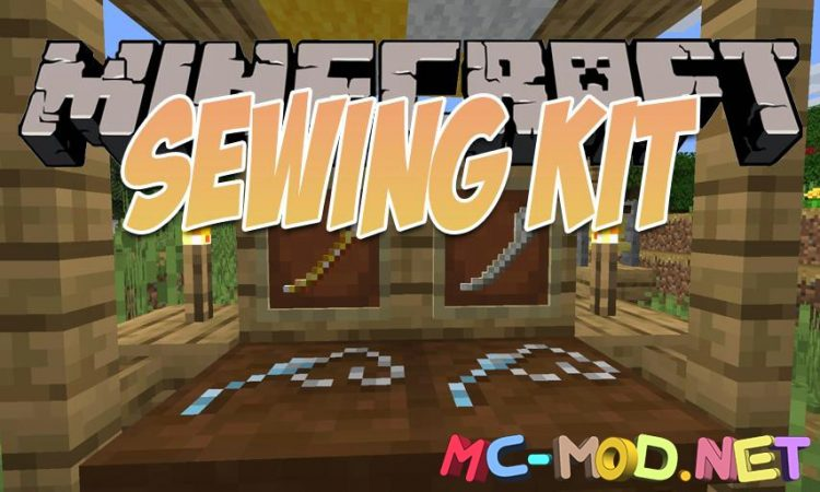 Sewing Kit mod for Minecraft logo_compressed