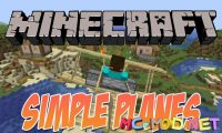 Simple Planes mod for Minecraft logo_compressed