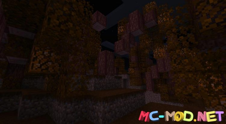 Spooky Autumn Forests mod for Minecraft (11)_compressed