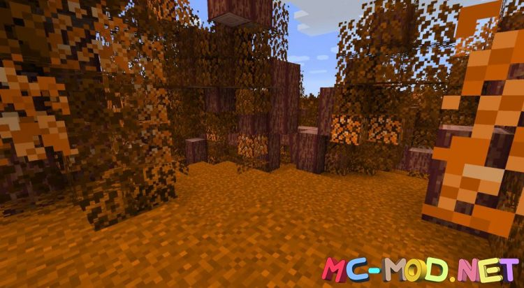 Spooky Autumn Forests mod for Minecraft (3)_compressed
