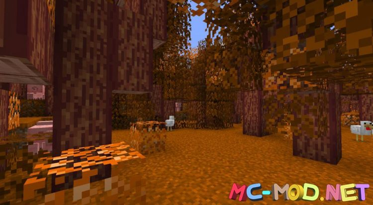 Spooky Autumn Forests mod for Minecraft (5)_compressed