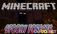 Spooky Autumn Forests mod for Minecraft logo_compressed