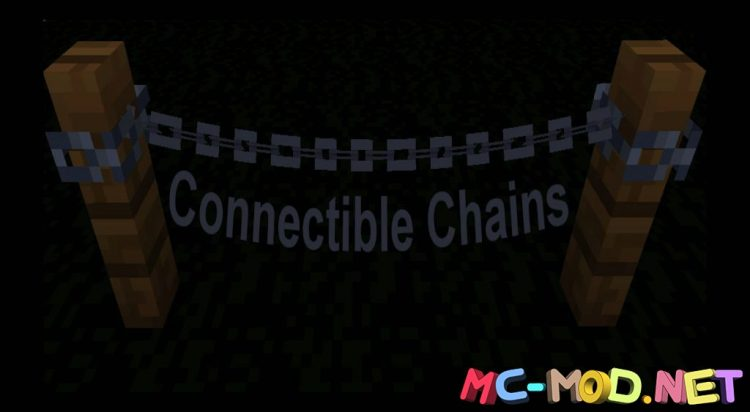 Connectible Chains mod for Minecraft (10)_compressed