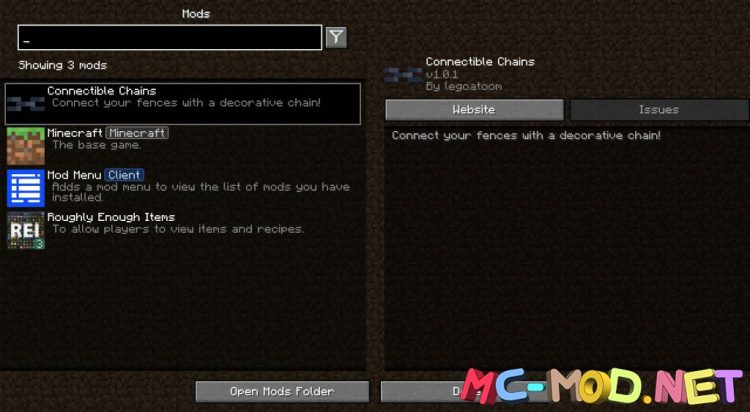 Connectible Chains mod for Minecraft (1)_compressed