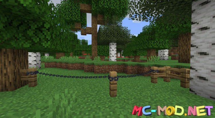 Connectible Chains mod for Minecraft (3)_compressed
