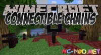 Connectible Chains mod for Minecraft logo_compressed