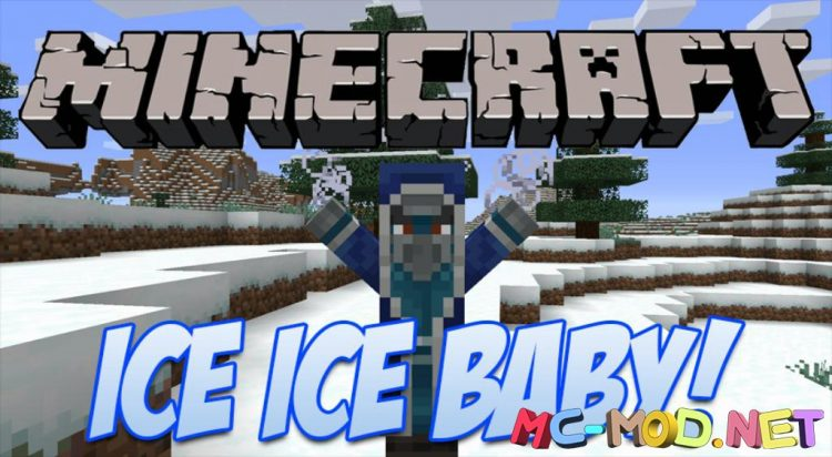 Ice Ice Baby mod for Minecraft logo_compressed