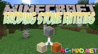 Eroding Stone Entities mod for Minecraft logo_compressed