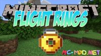 Flight Rings mod for Minecraft logo_compressed