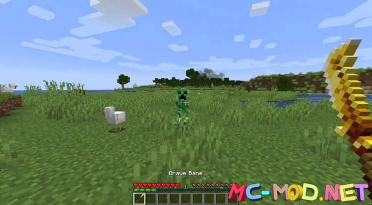MC Dungeons Weapons mod for Minecraft (12)_compressed