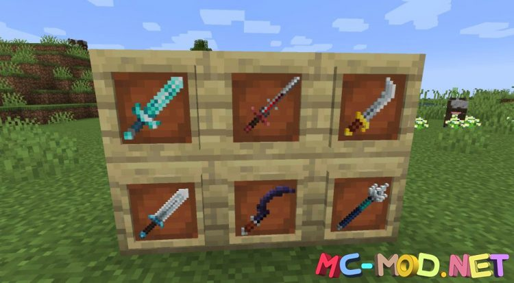 MC Dungeons Weapons mod for Minecraft (14)_compressed