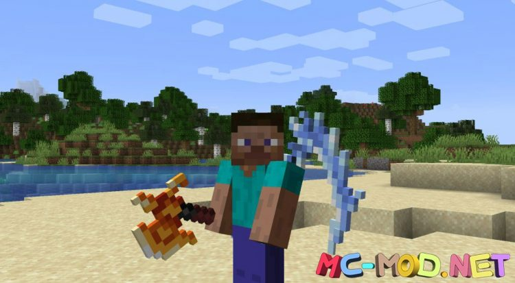 MC Dungeons Weapons mod for Minecraft (16)_compressed