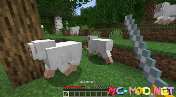 MC Dungeons Weapons mod for Minecraft (2)_compressed