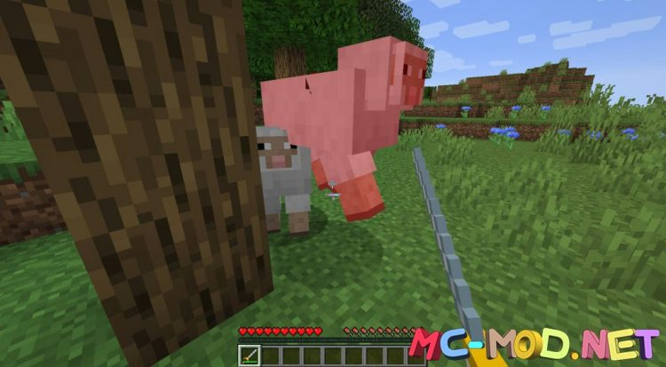 MC Dungeons Weapons mod for Minecraft (3)_compressed
