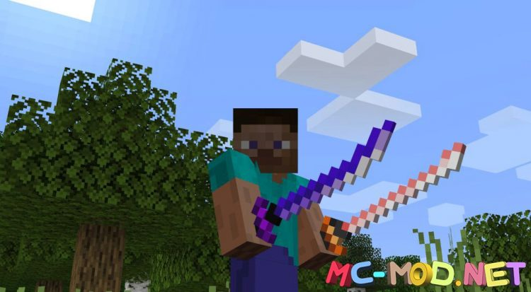 MC Dungeons Weapons mod for Minecraft (5)_compressed