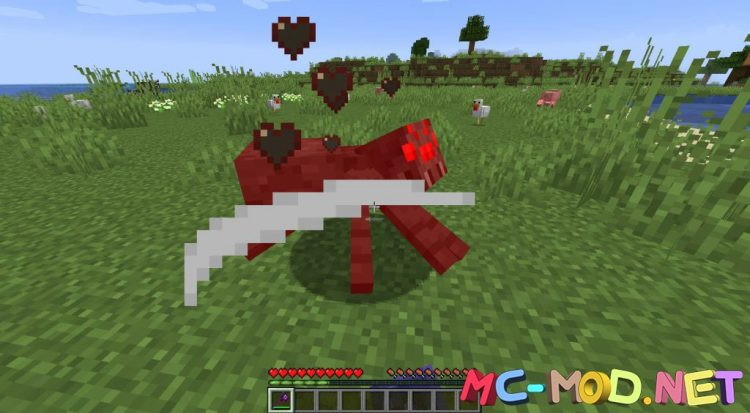 MC Dungeons Weapons mod for Minecraft (7)_compressed