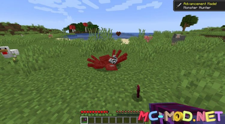 MC Dungeons Weapons mod for Minecraft (8)_compressed