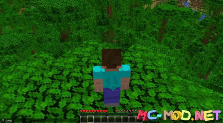 QuickHomes mod for Minecraft (6)_compressed