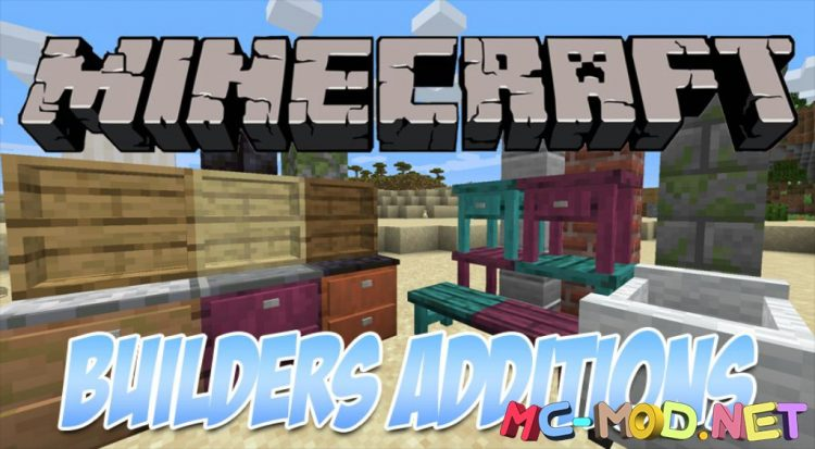 Builders Crafts _ Additions mod for Minecraft logo_compressed