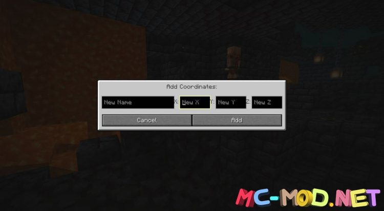 Coordinate Mod mod for Minecraft (11)_compressed