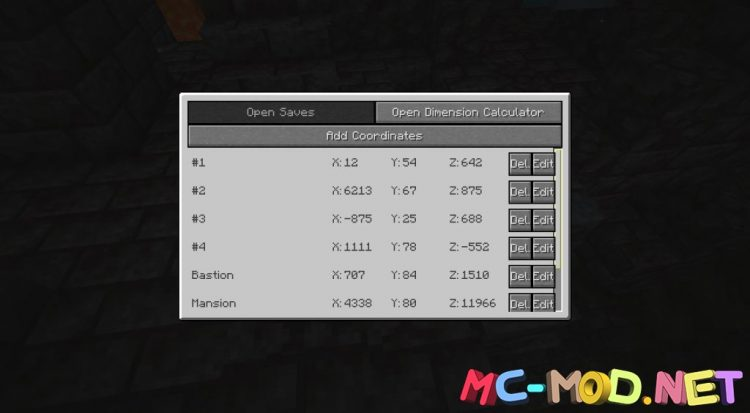 Coordinate Mod mod for Minecraft (13)_compressed