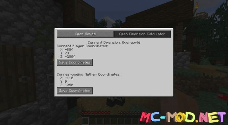 Coordinate Mod mod for Minecraft (3)_compressed
