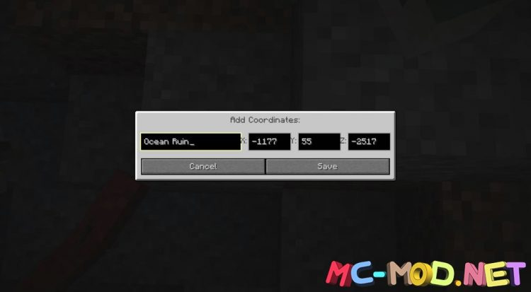Coordinate Mod mod for Minecraft (6)_compressed