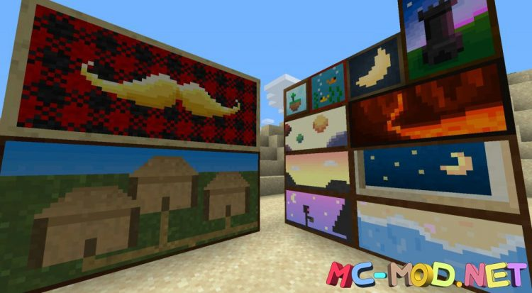 Dark Paintings mod for Minecraft (10)_compressed